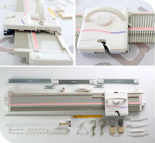 快乐编织机|LK150|银笛LK150编织机