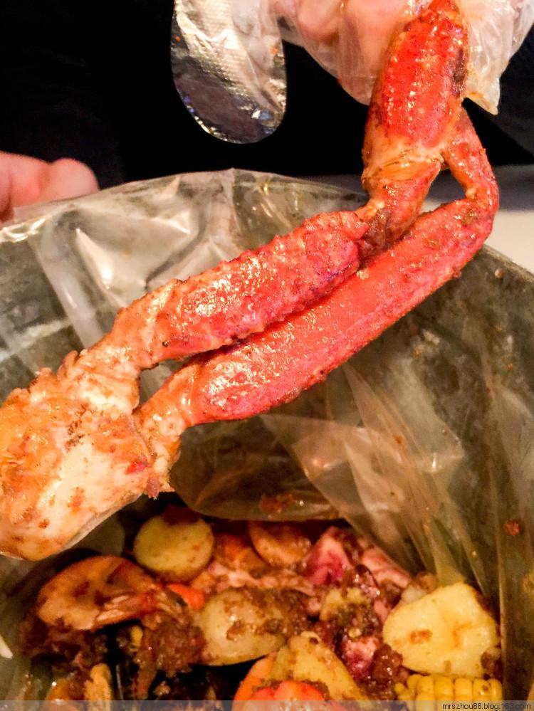 聚蟹座--世博园内品尝阿拉斯加帝王蟹腿 编织博客
