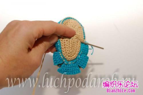 【转载】引用 宝宝凉鞋的钩法步骤图片 编织博客-编织