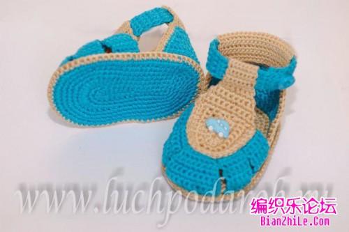 婴儿手套编织图片教程