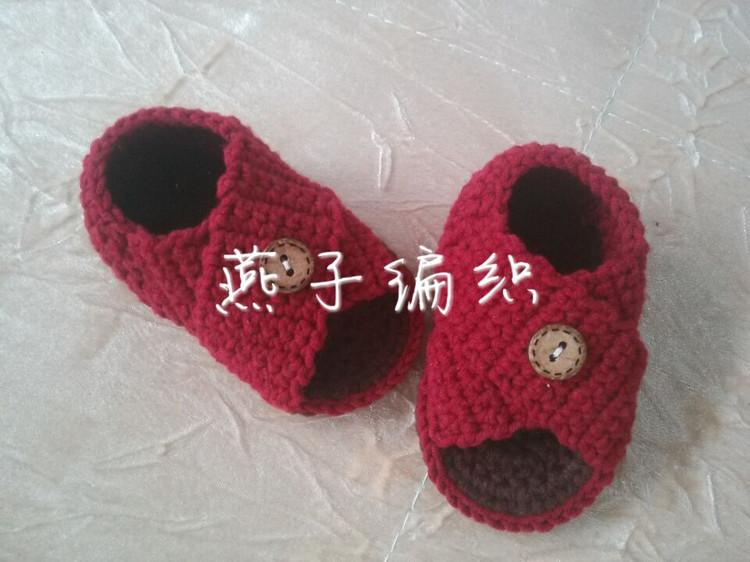 【转载】引用 【引用】交叉宝宝凉鞋钩法 图解和视频教程|编织博客