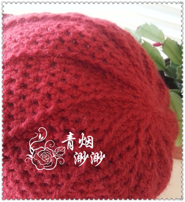 【转载】旋彩----钩针老年帽子 (附过程及步骤说明)|编织博客