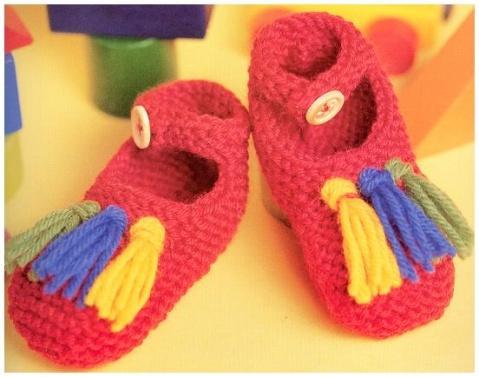 引用 引用 [多图]钩织宝宝鞋子---有图解|编织博客