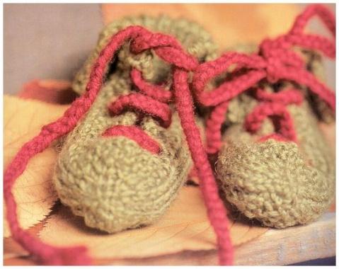 引用 引用 [多图]钩织宝宝鞋子---有图解 编织博客