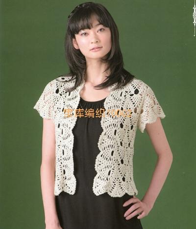 钩针编织菠萝花样服饰|编织博客