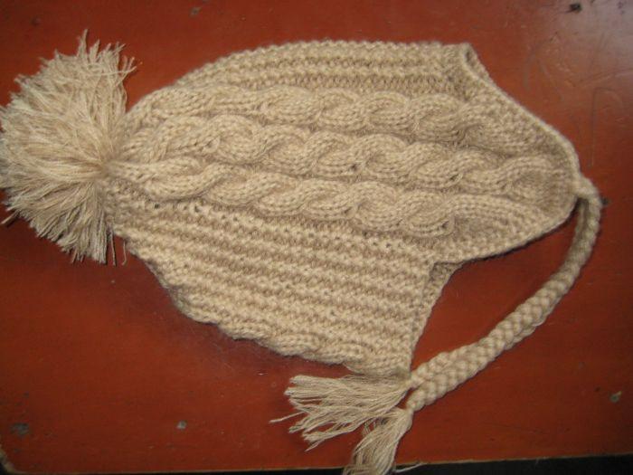 【转载】漂亮护耳帽子.加织法!|编织博客